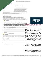 EPost-Reaktionen OFFENE Willensbekundung, FOLTER in IHREM STAAT BRD - 25. September 2014 Und 29. September 2014 Und 06. Oktober 2014