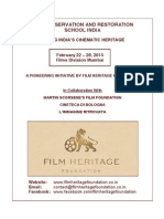 Film Preservation and Restoration School, India