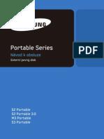 M,S Portable Series User Manual CZ