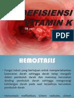 Defisiensi Vitamin k