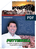 PODER AGROPECUARIO - GANADERIA - N 10 - FEBRERO 2012 - PARAGUAY - PORTALGUARANI