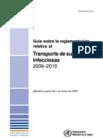 Guia de Transporte de Sustancias Infecciosas OMS 2009-10
