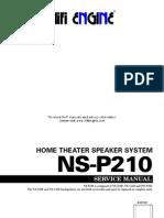Yamaha Ns-p210