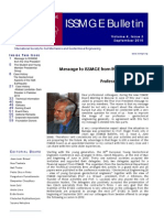 ISSMGE Bulletin Volume 4 Issue3