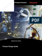Honeywell Sensing Pressure Force Flow Rangeguide
