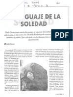 Liscano, Carlos - El Lenguaje de La Soledad