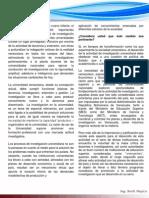 El rol protagónico de la universidad en el desarrollo integral del país.