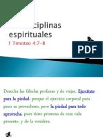 Las Disciplinas Espirituales