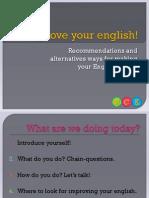 Improve Your English!