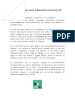 Declaracion CECOM Cristobal Orrego