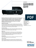 Epson EH-TW570 3LCD HD Ready Gaming / Home Theatre Projector