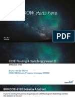 Ccie Routing & Switching Version 5 (Brkccie-9162)