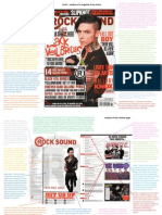 Rock Sound Cover, Contents and DPS Analysis