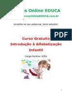 Curso Introdu o Alfabetiza o Infantil