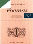 Friedrich Nietzsche - Poemas Edición Bilingüe