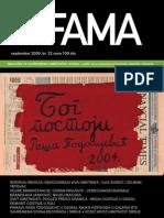 Art Fama 32 Septembar Naslovna Strana