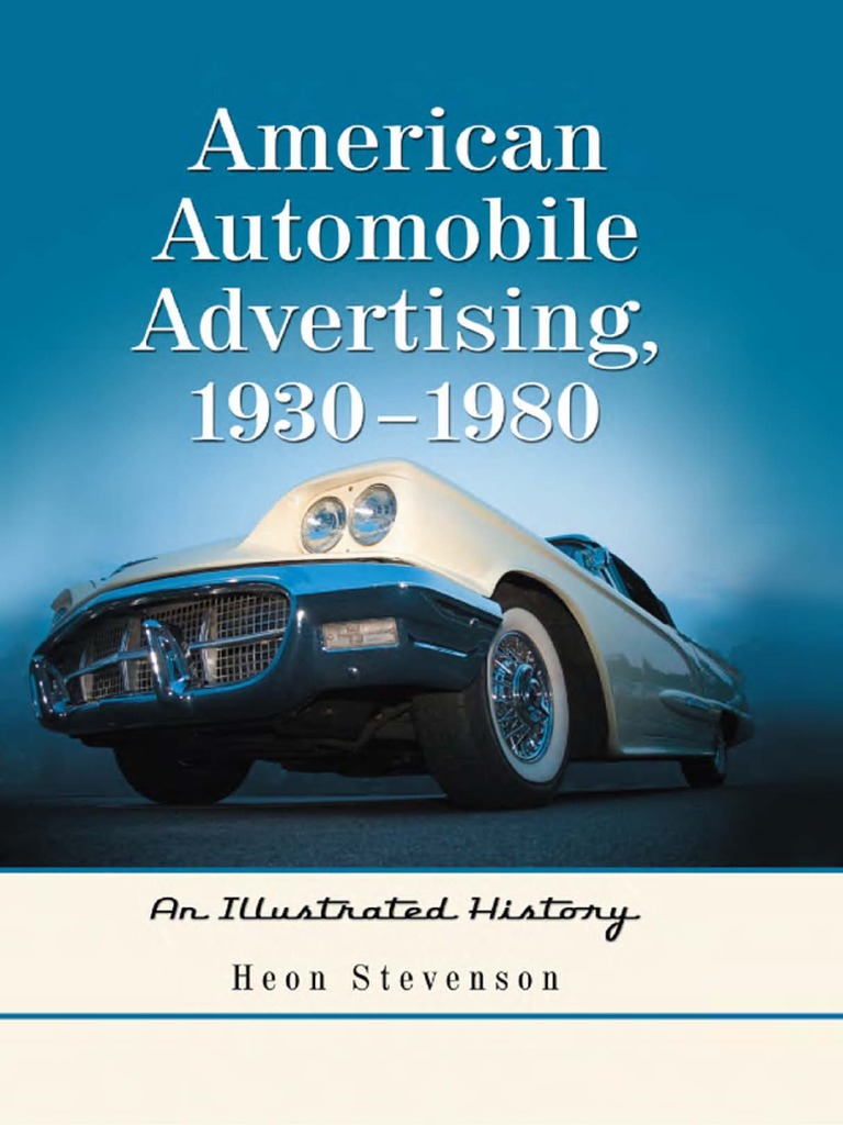 American Automobile Advertising, 40 40   An Illustrated ...