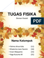 TUGAS FISIKA ELEMEN PARALEL