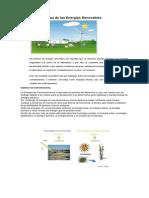 Características de Las Energías Renovables