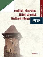 Határhelyzetek V. - Sztereotípiák, választások, túlélési stratégiák kisebbségi léthelyzetekben