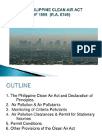 2014 Phil Clean Air Act of 1999