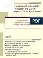 Effective NIH Research Career Development Proposals Overview