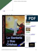 Imprimirla Santeria y Sus Orichas