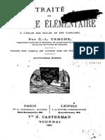 C.-l. Tanghe - Traité de Physique Élémentaire