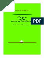Donna Edgardo Alberto - El Exceso en Las Causas de Justificacion