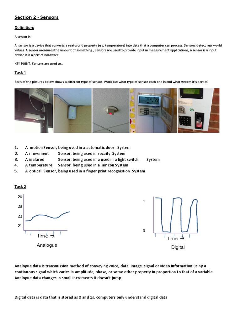 What is a sensor 43