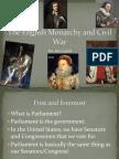 English Monarchy and Civil War