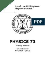 Phys 73 3rd Ps 1say14-15