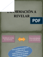 información a Revelar