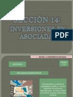 SECC 14 INVERSIONES EN ASOCIADAS