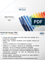 Presentación Grupo TBS ACP