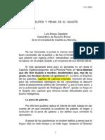 Arroyo Zapatero, Luis-.- Delitos y Penas en El Quijote