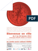Bienvenue en ville / invitation
