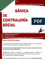 Ley Organica de Contraloría Socialchino