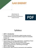 Solar Energy 21 Sep