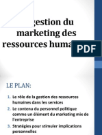 Sujet v-le Management Marketing Des Ressources Humaines