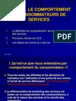 Sujet IV-le Comportement de Consommateurs de Services
