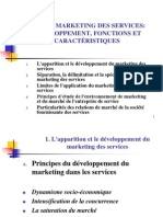 Sujet I-le Marketing de Services- Evolution, Fonctions Et Particularites