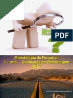 Introducao - Metodologia de Pesquisa I
