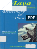 Yucatec Mayan Dictionary and Phrasebook