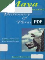 Yucatec Mayan Dictionary and Phrasebook