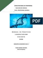 Practica Biologia 2014- 2 GUIA Completa