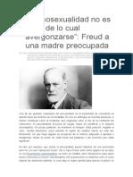 Carta Freud a Una Madre