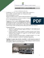 Managementul afacerilor FEAA