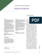 Digitalización audiovisual en la Argentina. Reflexiones en tiempos de transición. Meirovich Valeria