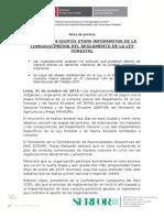 CONTINÚA EN IQUITOS ETAPA INFORMATIVA DE LA CONSULTA PREVIA DEL REGLAMENTO DE LA LEY FORESTAL
